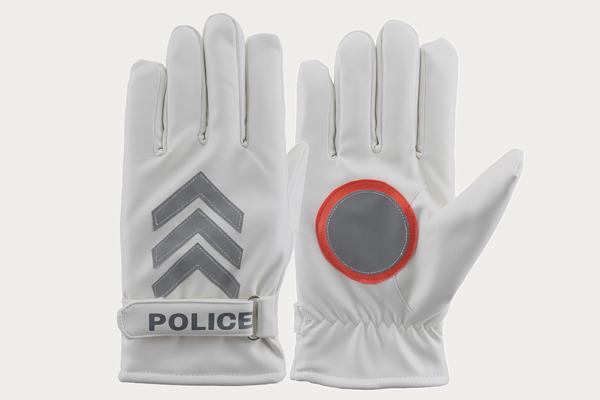 交警执勤反光手套